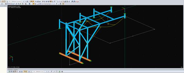 Complex Frame Design Calculation