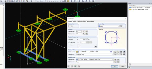 Complex Frame Modelling