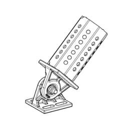 pivot joint base plate