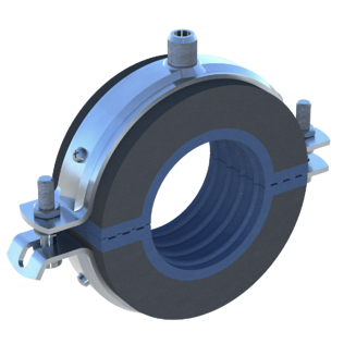 Chilled Water Pipe Clamp
