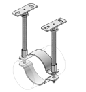 mounting without bracing double attachment