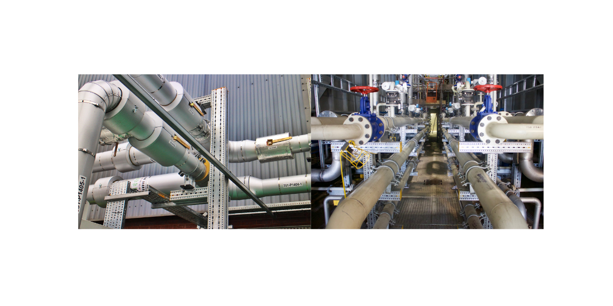 Sikla Pipe Supports in Chemical Plants