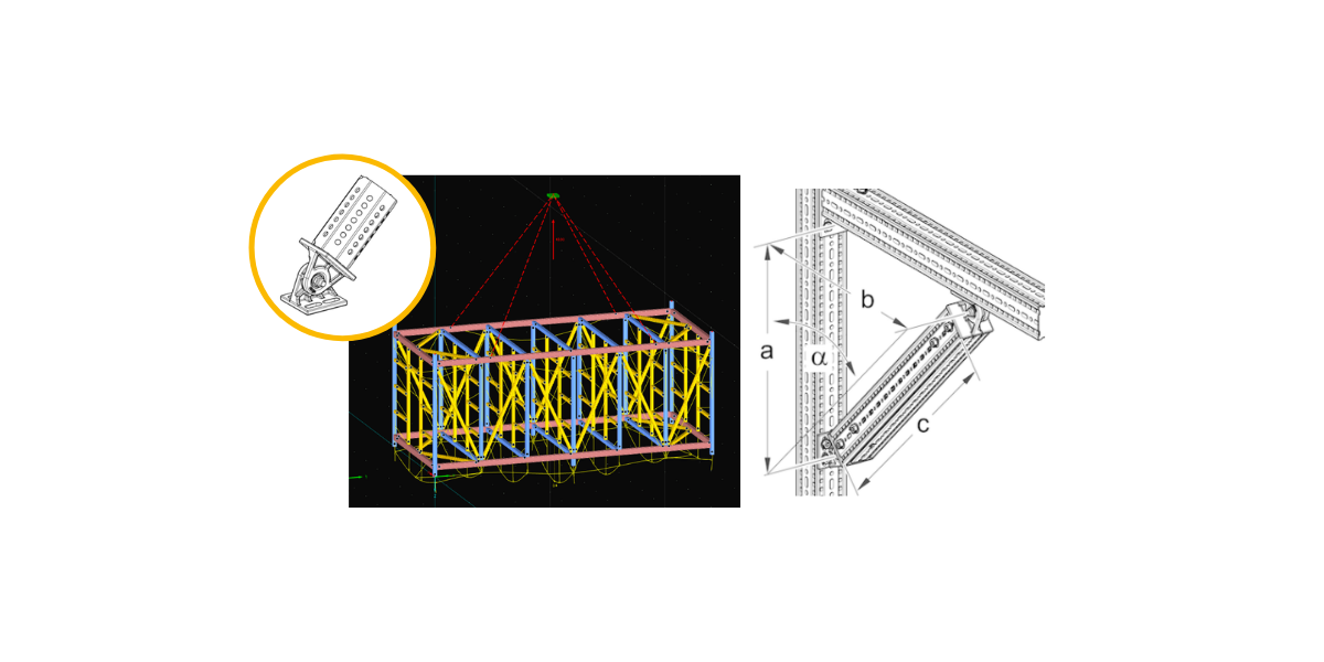 pivot joints in modular steel structures